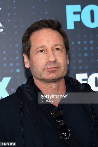 Actor David Duchovny attends the 2017 FOX Upfront at Wollman Rink on May 15 2017 in New York City