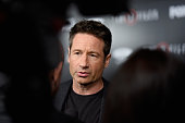 Actor David Duchovny attends the premiere of Fox's 'The XFiles' at California Science Center on January 12 2016 in Los Angeles California