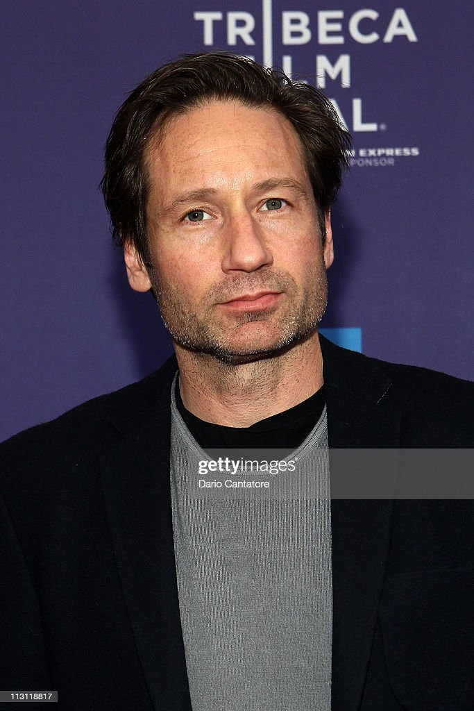 Actor <a gi-track='captionPersonalityLinkClicked' href=/galleries/search?phrase=David+Duchovny&family=editorial&specificpeople=201628 ng-click='$event.stopPropagation()'>David Duchovny</a> attends the Tribeca Talks After The Movie: 'Revenge of the Electric Car' during the 2011 Tribeca Film Festival at the SVA Theater on April 23, 2011 in New York City.
