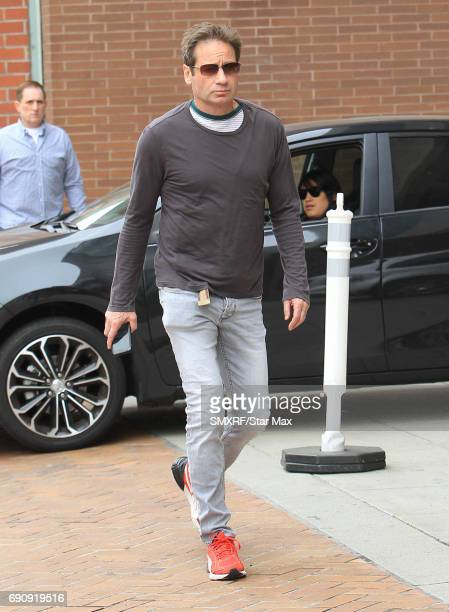 Actor David Duchovny is seen on May 30 2017 in Los Angeles California