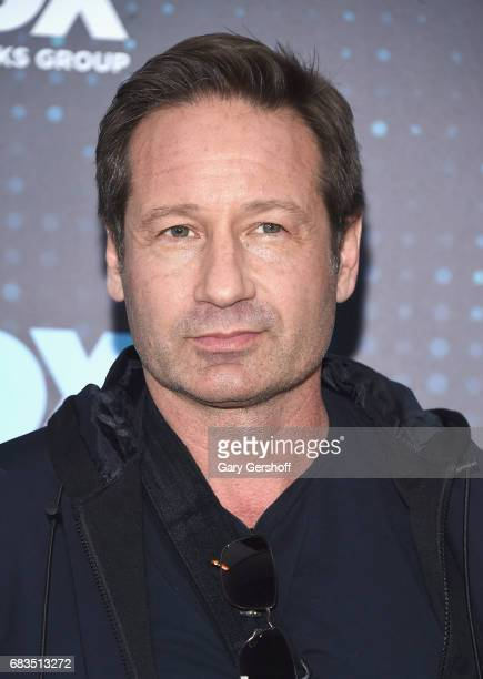 Actor David Duchovny of the show 'The XFiles' attends the FOX Upfront on May 15 2017 in New York City