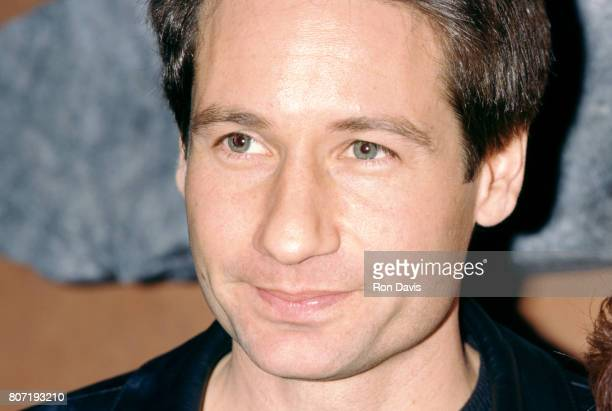 Actor David Duchovny poses for a portrait as he attends the 33rd Annual National Association of Television Program Executives Convention and...