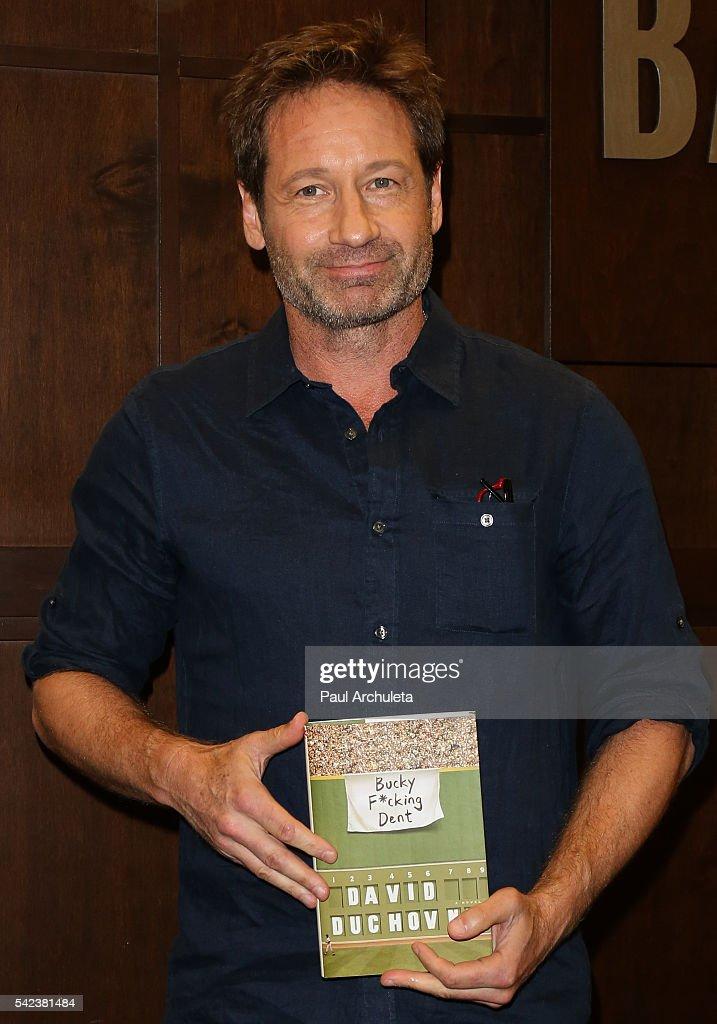 David Duchovny Book Si...