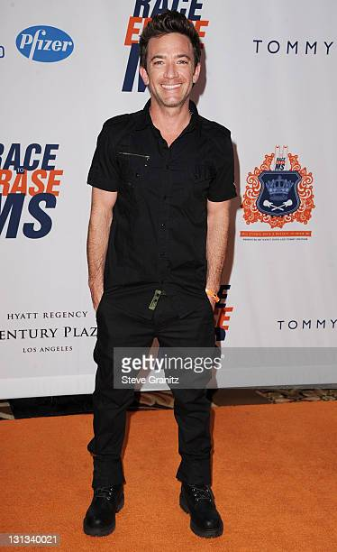 Actor David Faustino arrives at the 18th Annual Race To Erase MS at the Hyatt Regency Century Plaza on April 29 2011 in Century City California