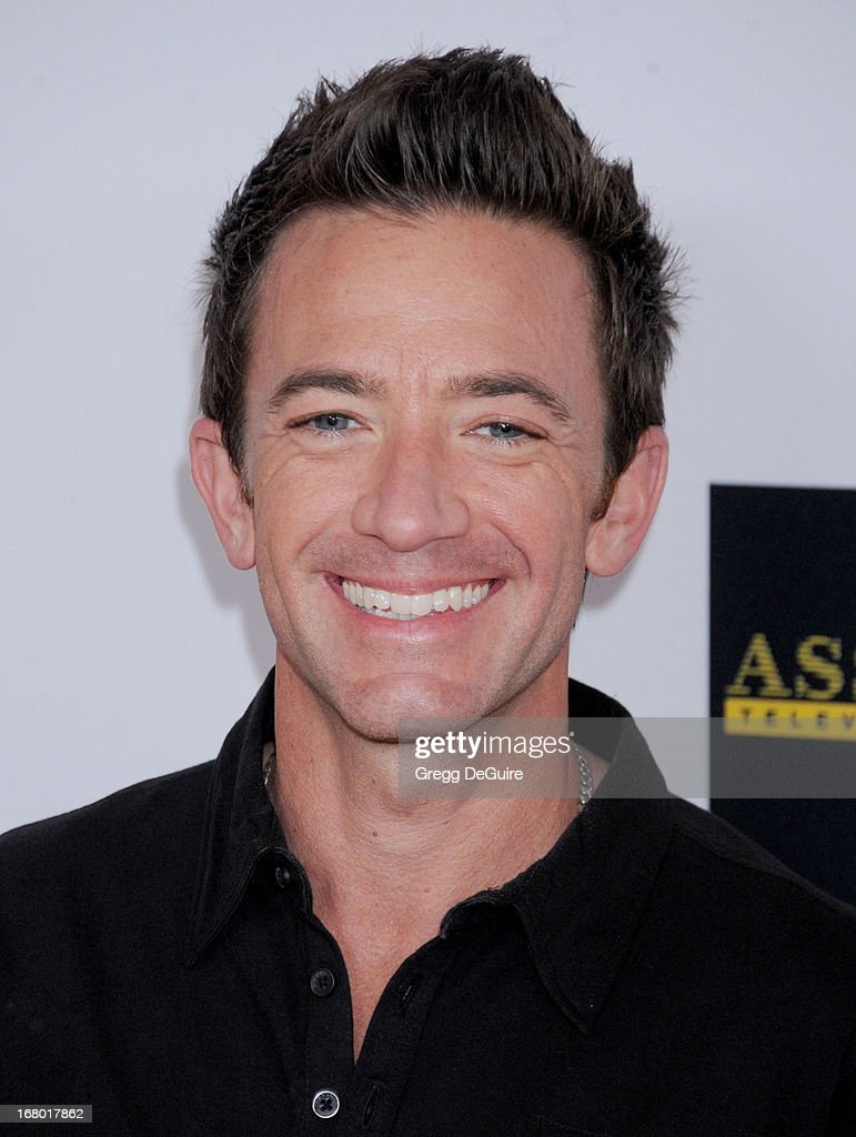 Actor David Faustino arrives at the 20th Annual Race To Erase MS Gala 'Love To Erase MS' at the Hyatt Regency Century Plaza on May 3, 2013 in Century City, California.