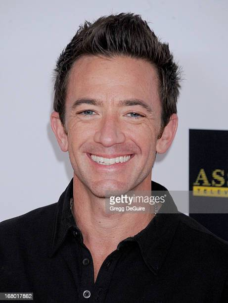 Actor David Faustino arrives at the 20th Annual Race To Erase MS Gala 'Love To Erase MS' at the Hyatt Regency Century Plaza on May 3 2013 in Century...