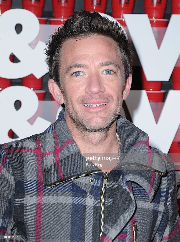 Actor <a gi-track='captionPersonalityLinkClicked' href=/galleries/search?phrase=David+Faustino&family=editorial&specificpeople=226901 ng-click='$event.stopPropagation()'>David Faustino</a> arrives at the '21 And Over' - Los Angeles Premiere at Westwood Village Theatre on February 21, 2013 in Los Angeles, California.