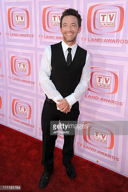 Actor David Faustino arrives at the 7th Annual TV Land Awards held at Gibson Amphitheatre on April 19 2009 in Universal City California