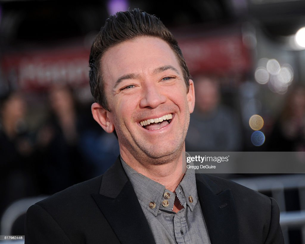 Actor David Faustino arrives at the premiere of USA Pictures' 'The Boss' at Regency Village Theatre on March 28 2016 in Westwood California