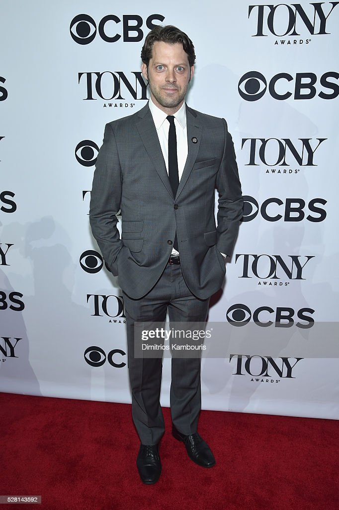 Actor David Furr attends the 2016 Tony Awards Meet The Nominees Press Reception on May 4, 2016 in New York City.