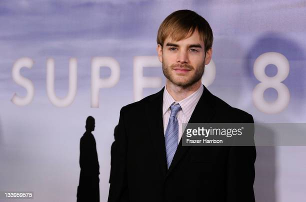 Actor David Gallagher arrives at Paramount Pictures' 'Super 8' Bluray and DVD release party at AMPAS Samuel Goldwyn Theater on November 22 2011 in...