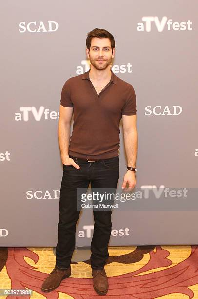 Actor David Giuntoli attends the 'Grimm' event during aTVfest 2016 presented by SCAD on February 7 2016 in Atlanta Georgia