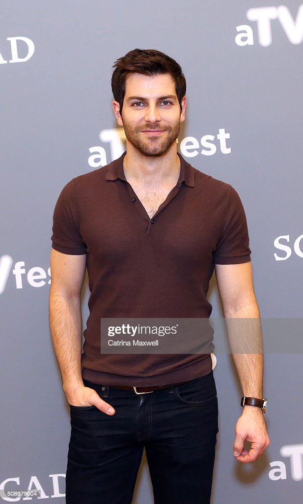 Actor <a gi-track='captionPersonalityLinkClicked' href=/galleries/search?phrase=David+Giuntoli&family=editorial&specificpeople=8011911 ng-click='$event.stopPropagation()'>David Giuntoli</a> attends the 'Grimm' event during aTVfest 2016 presented by SCAD on February 7, 2016 in Atlanta, Georgia.