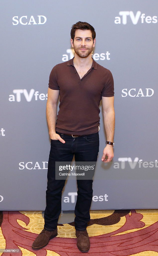 Actor David Giuntoli attends the 'Grimm' event during aTVfest 2016 presented by SCAD on February 7, 2016 in Atlanta, Georgia.