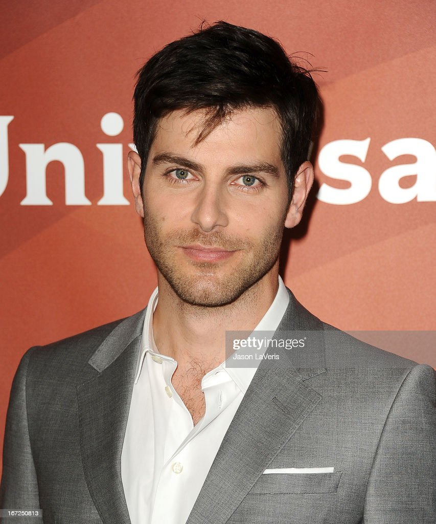 Actor <a gi-track='captionPersonalityLinkClicked' href=/galleries/search?phrase=David+Giuntoli&family=editorial&specificpeople=8011911 ng-click='$event.stopPropagation()'>David Giuntoli</a> attends the NBCUniversal summer press day at The Langham Huntington Hotel and Spa on April 22, 2013 in Pasadena, California.