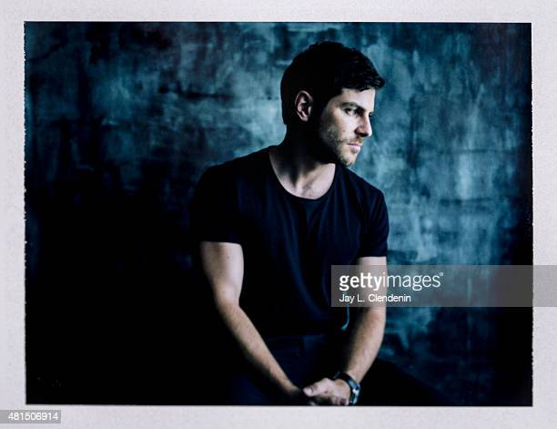 Actor David Giuntoli of 'Grimm' is photographed on polaroid film at ComicCon International 2015 for Los Angeles Times on July 9 2015 in San Diego...