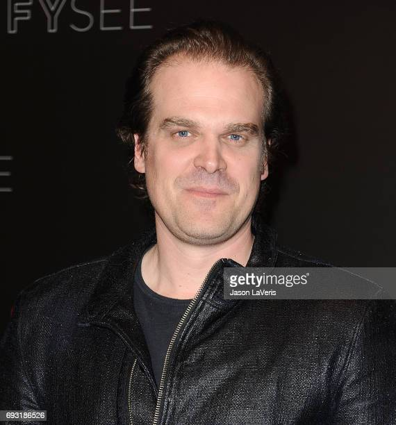 Actor David Harbour attends the 'Stranger Things' FYC event at Netflix FYSee Space on June 6 2017 in Beverly Hills California