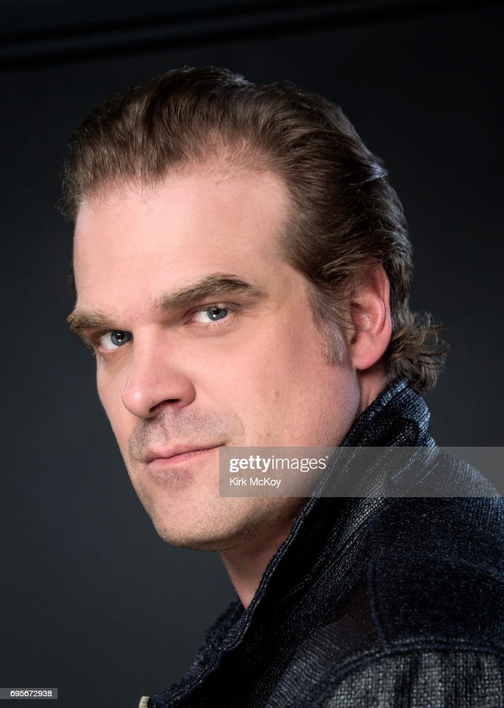 David Harbour, Los Angeles Times, June 7, 2017