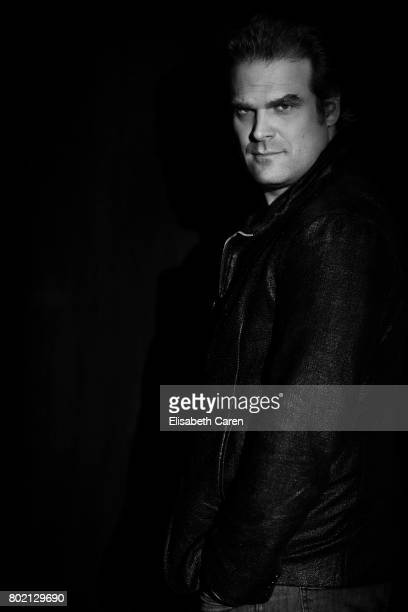 Actor David Harbour is photographed for The Wrap on June 1 2017 in Los Angeles California PUBLISHED IMAGE