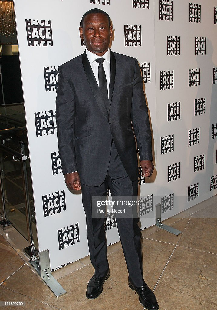 Actor <a gi-track='captionPersonalityLinkClicked' href=/galleries/search?phrase=David+Harewood&family=editorial&specificpeople=2195239 ng-click='$event.stopPropagation()'>David Harewood</a> arrives at the 63rd Annual ACE Eddie Awards held at The Beverly Hilton Hotel on February 16, 2013 in Beverly Hills, California.