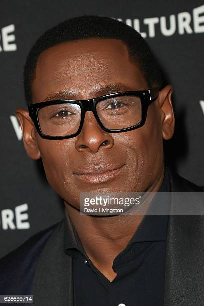 Actor David Harewood arrives at the Vulture Awards Season Party at the Sunset Tower Hotel on December 8 2016 in West Hollywood California
