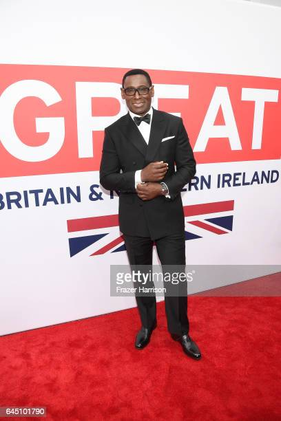 Actor David Harewood attends Film is GREAT Reception honoring the British Nominees of the 89th Annual Academy Awards Sponsored by British Airways at...