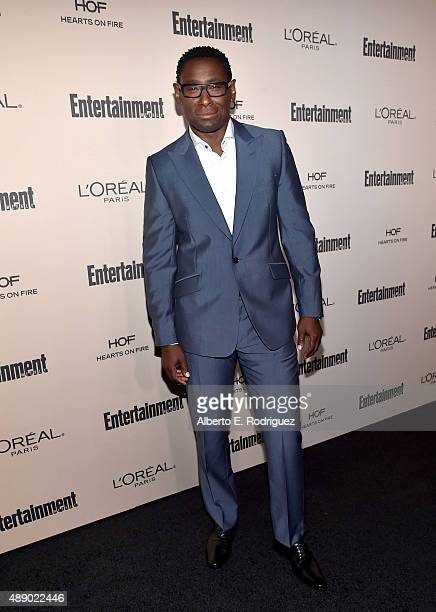 Actor David Harewood attends the 2015 Entertainment Weekly PreEmmy Party at Fig Olive Melrose Place on September 18 2015 in West Hollywood California