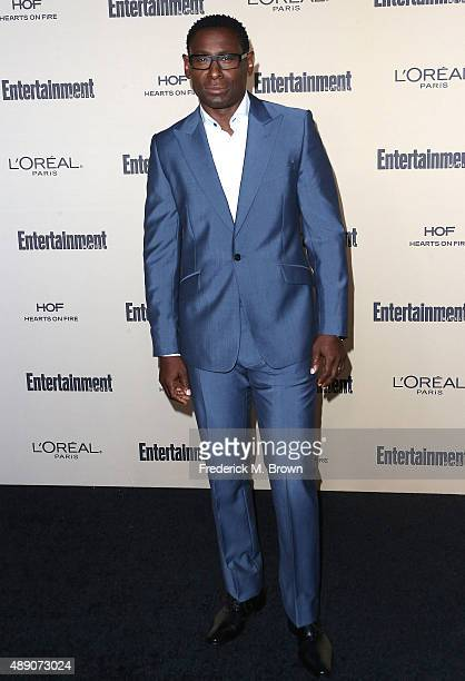 Actor David Harewood attends the 2015 Entertainment Weekly PreEmmy Party at the Fig Olive Melrose Place on September 18 2015 in West Hollywood...