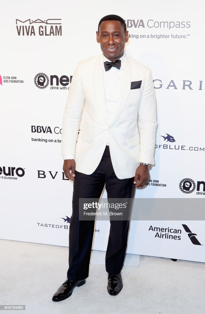 Actor David Harewood attends the 25th Annual Elton John AIDS Foundation's Academy Awards Viewing Party at The City of West Hollywood Park on February 26, 2017 in West Hollywood, California.
