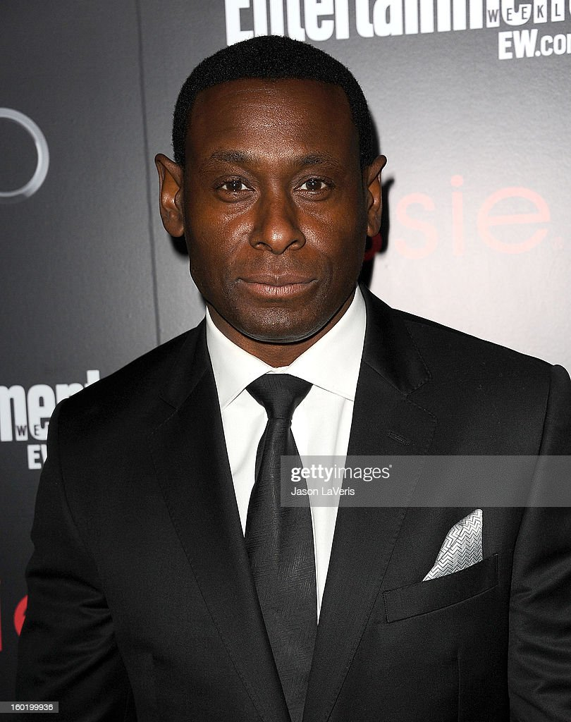 Actor David Harewood attends the Entertainment Weekly Screen Actors Guild Awards pre-party at Chateau Marmont on January 26, 2013 in Los Angeles, California.