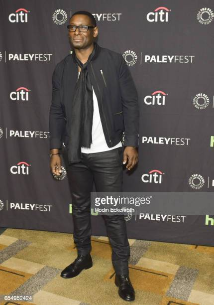 Actor David Harewood attends The Paley Center for Media's 34th Annual PaleyFest Los Angeles The CW at Dolby Theatre on March 18 2017 in Hollywood...