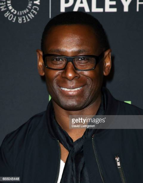 Actor David Harewood attends The Paley Center For Media's 34th Annual PaleyFest Los Angeles presentation of The CW's Heroes Aliens at Dolby Theatre...