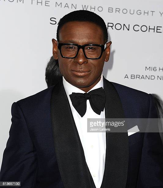 Actor David Harewood attends the premiere of 'The Brothers Grimsby' at Regency Village Theatre on March 3 2016 in Westwood California