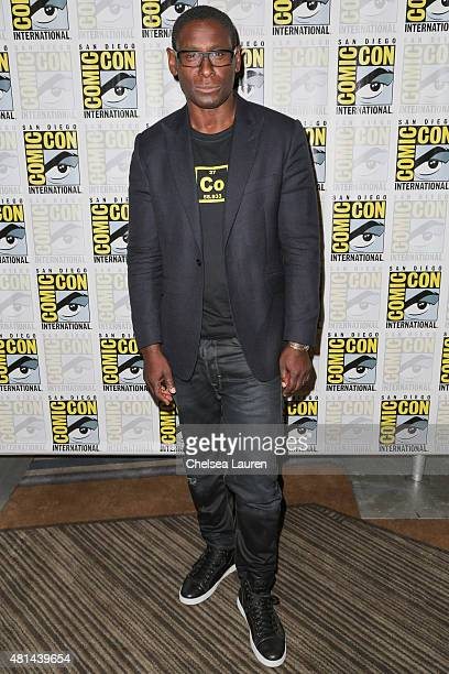 Actor David Harewood attends the 'Supergirl' press room on July 11 2015 in San Diego California