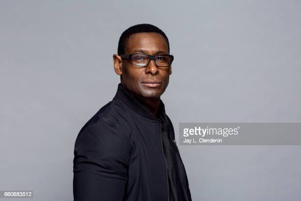 Actor David Harewood from CW's 'Supergirl' is photographed at Paley Fest for Los Angeles Times on March 18 2017 in Los Angeles California PUBLISHED...