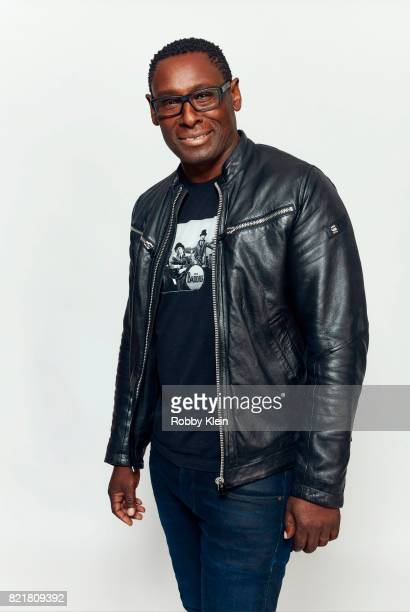 Actor David Harewood from CW's 'Supergirl' poses for a portrait during ComicCon 2017 at Hard Rock Hotel San Diego on July 22 2017 in San Diego...