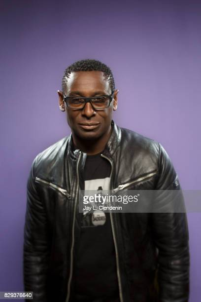 Actor David Harewood from the television series 'Supergirl' is photographed in the LA Times photo studio at ComicCon 2017 in San Diego CA on July 22...