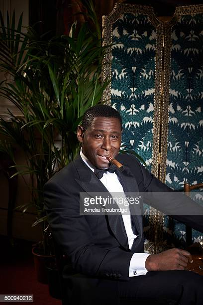 Actor David Harewood is photographed for ES magazine on September 8 2014 in London England