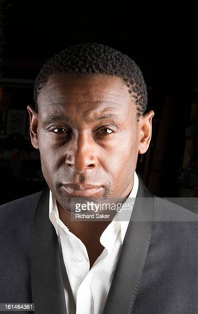 Actor David Harewood is photographed for the Observer on December 4 2012 in London England