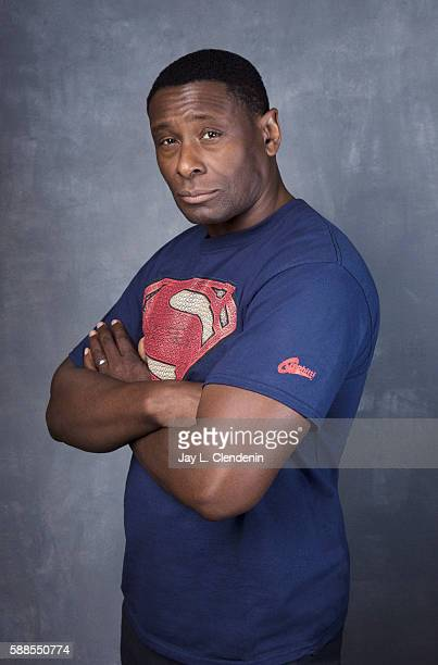 Actor David Harewood of 'Supergirl' is photographed for Los Angeles Times at San Diego Comic Con on July 22 2016 in San Diego California