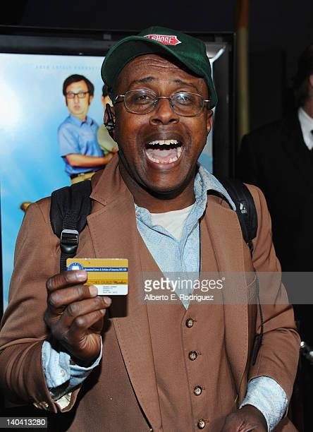 Actor David Hart arrives to 'Tim And Eric'$ Billion Dollar Movie' Los Angeles Premiere at ArcLight Hollywood on March 1 2012 in Hollywood California