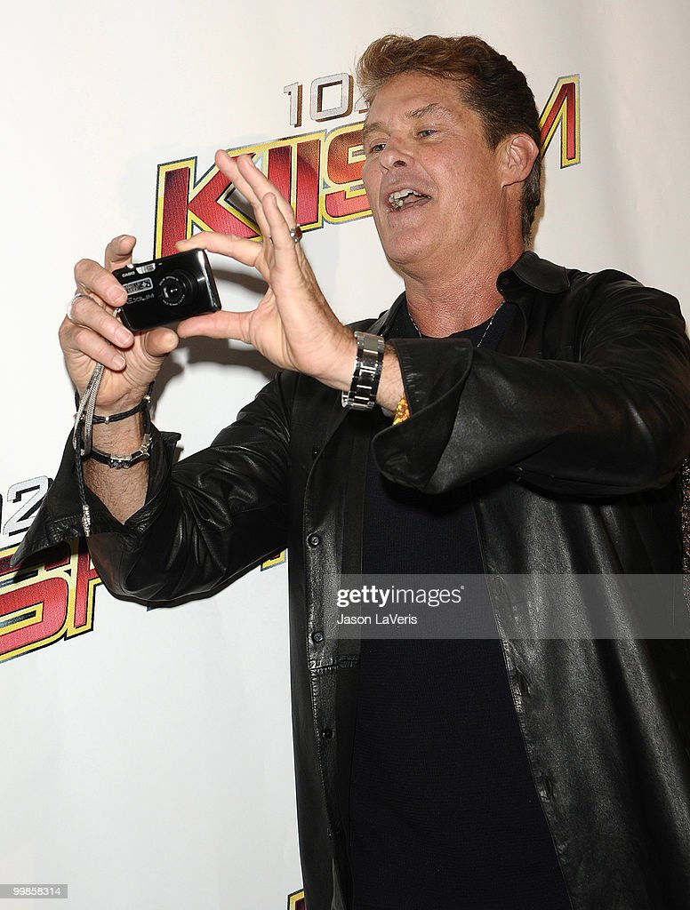 Actor David Hasselhoff attends KIIS FM's 2010 Wango Tango Concert at Staples Center on May 15, 2010 in Los Angeles, California.