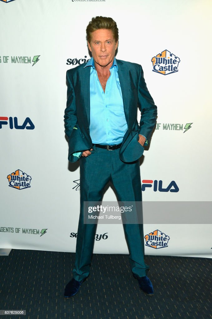Actor David Hasselhoff attends the 'Extraordinary: Stan Lee' tribute event at Saban Theatre on August 22, 2017 in Beverly Hills, California.