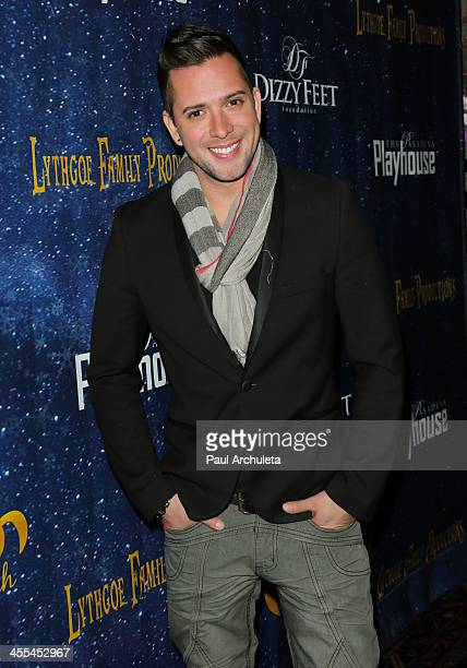 Actor David Hernandez attends the opening night of 'Aladdin And His Winter Wish' at the Pasadena Playhouse on December 11 2013 in Pasadena California