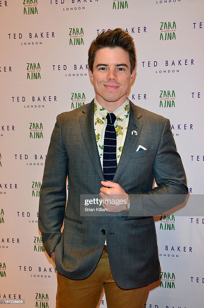 Actor David Hull attends the Zara Aina Foundation Benefit at Ted Baker on April 22, 2013 in New York City.