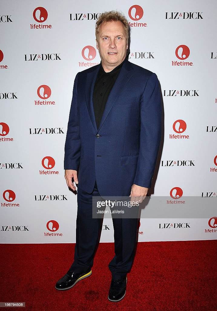 Actor David Hunt attends the premiere of 'Liz & Dick' at Beverly Hills Hotel on November 20, 2012 in Beverly Hills, California.