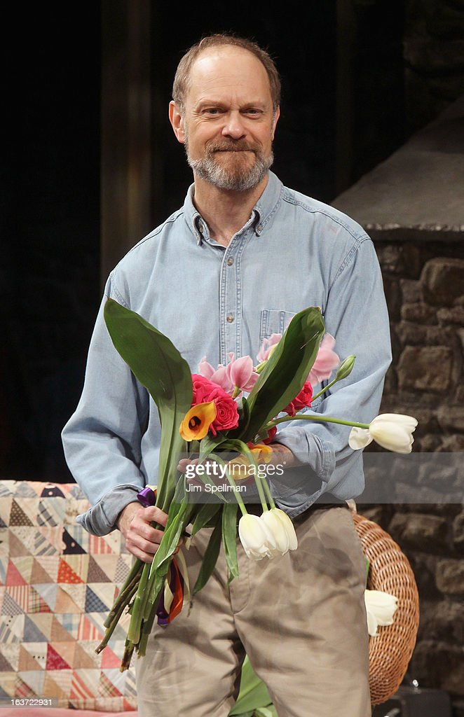 Actor David Hyde Pierce attends the 'Vanya And Sonia And Masha And Spike' Broadway opening night at The Golden Theatre on March 14, 2013 in New York City.