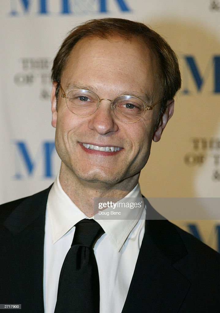 Actor David Hyde Pierce before the Museum of Television & Radio's Annual Los Angeles Gala on November 10, 2003 at the Beverly Hills Hotel in Beverly Hills, California.
