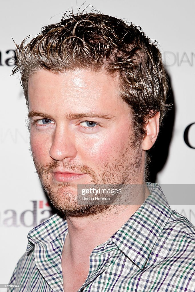 Actor David J. Phillips attends the 2013 Canada Day in LA party at Wokano restaurant on June 30, 2013 in Santa Monica, California.