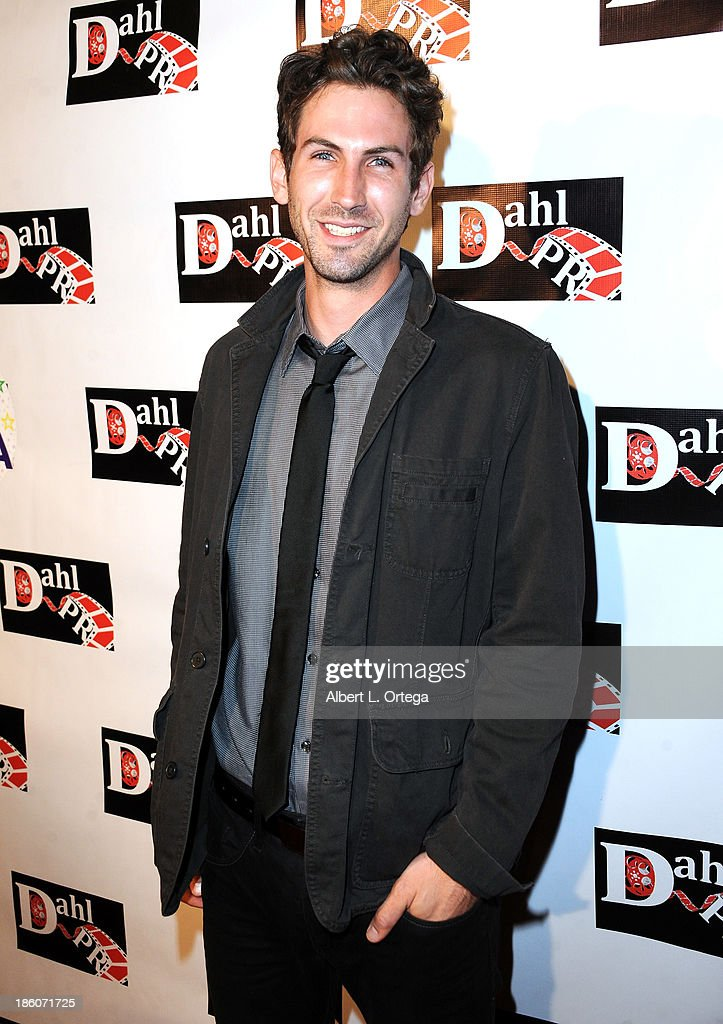 Actor David James Baker arrives for 'The Black Dahlia Haunting' DVD Release Party held at The Station Hollywood on October 15, 2013 in Hollywood, California.